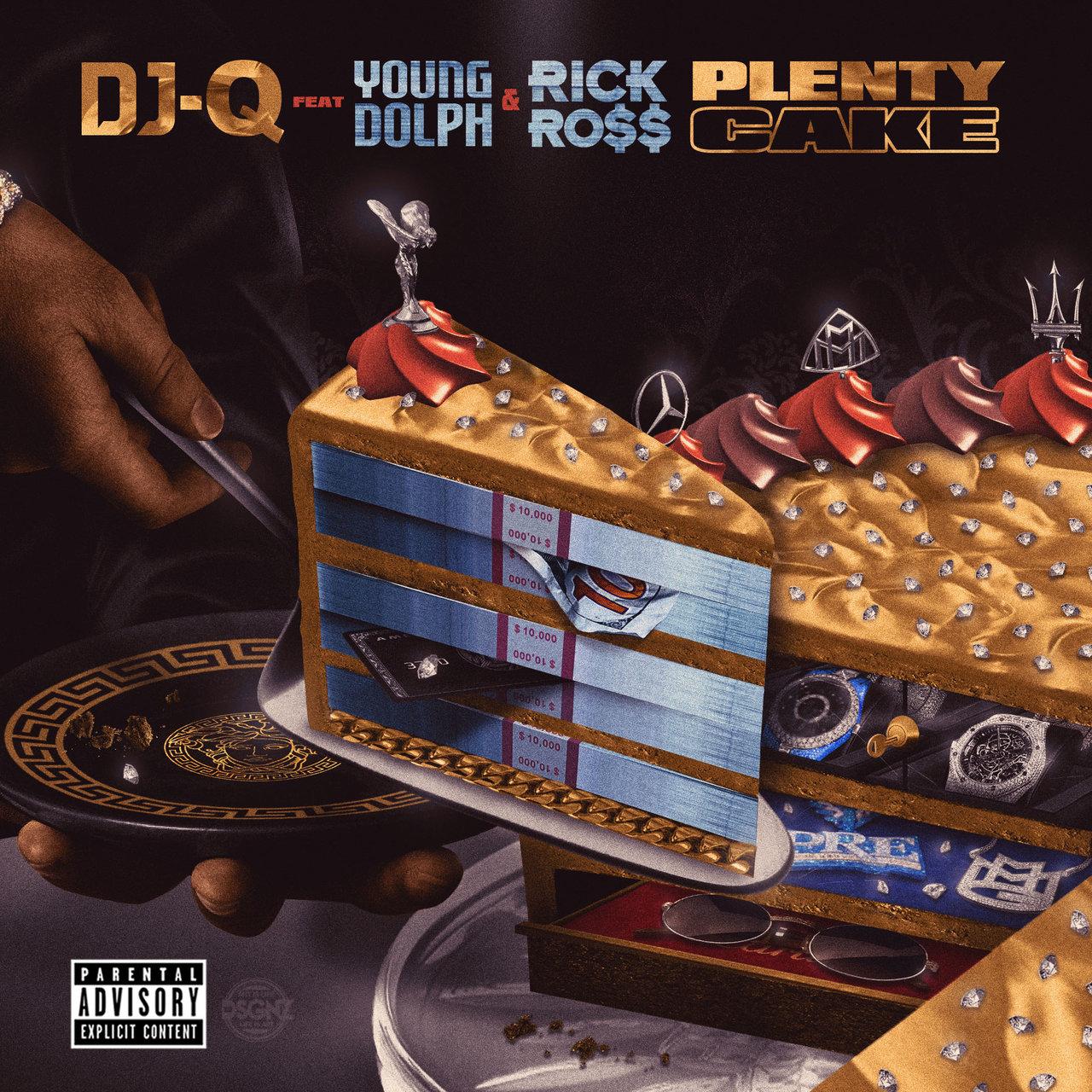 DOWNLOAD MP3: DJ-Q Ft. Young Dolph & Rick Ross – Plenty Cake