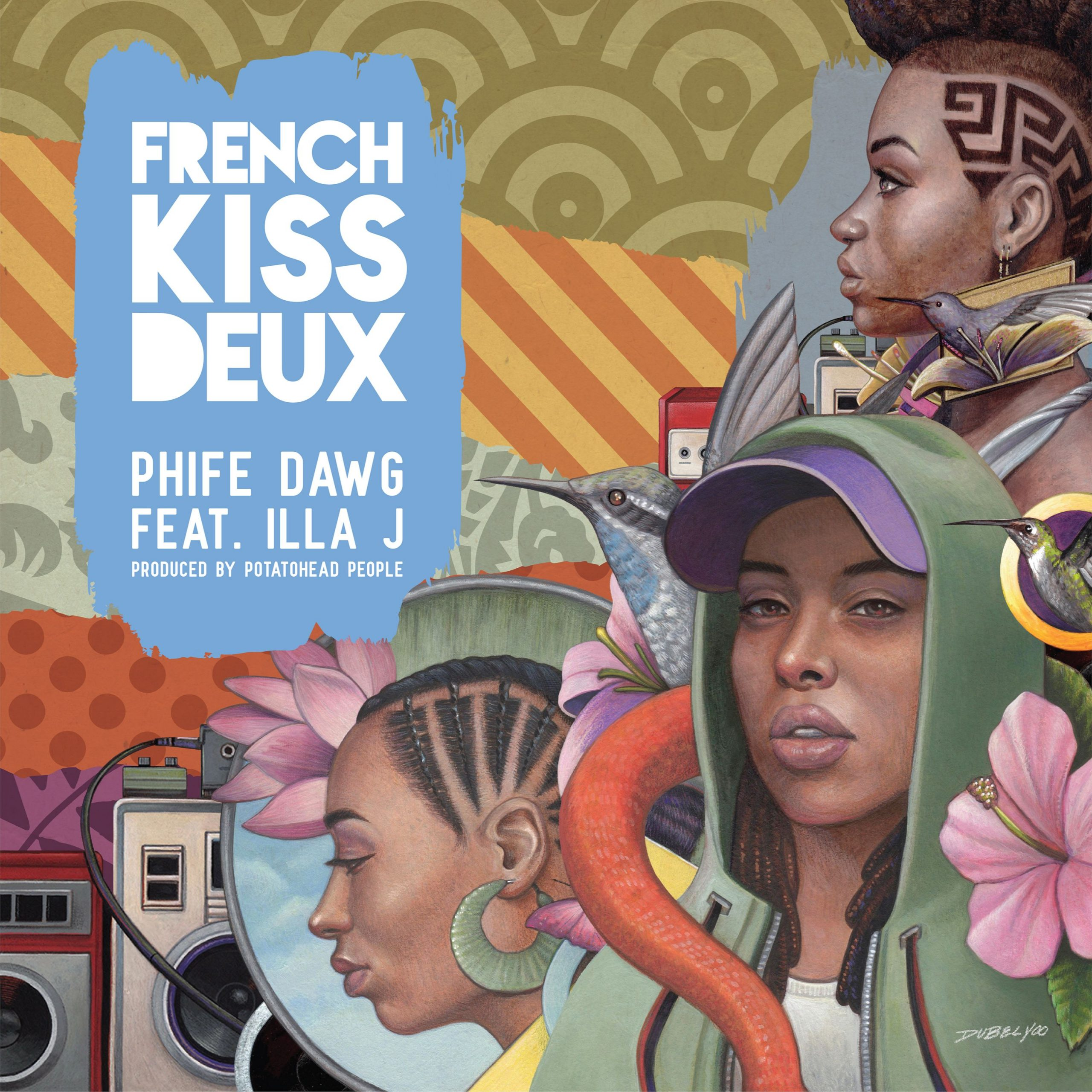 DOWNLOAD MP3: Phife Dawg Ft. Illa J – French Kiss Deux